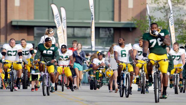 Bikes Green Bay Wis Monday July Green Bay